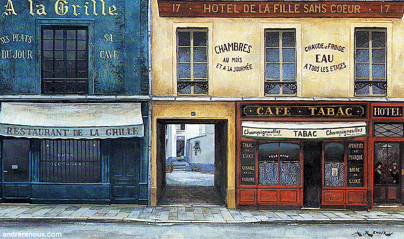 A La Grille Hotel Des Filles Sans Coeur