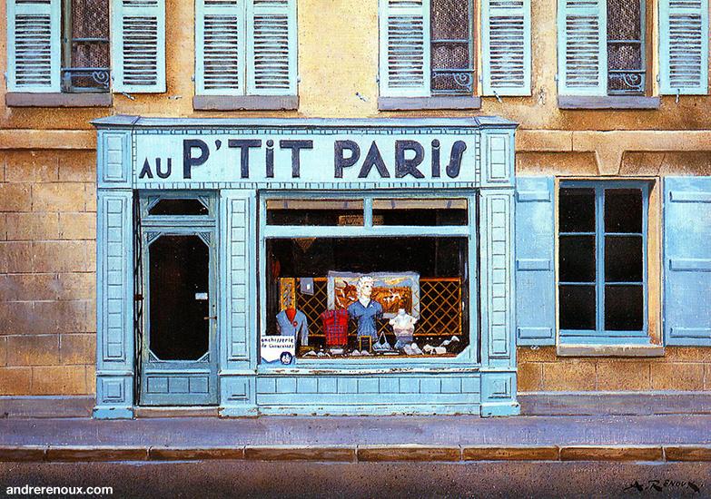 Au P'tit Paris à Braine