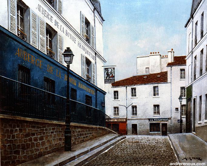 Auberge De La Bonne Franquette Rue St Rustique