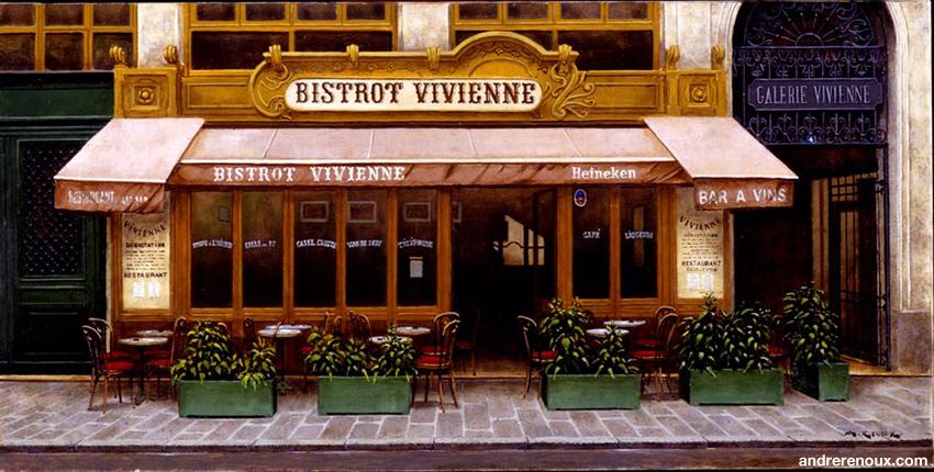 Bistrot Vivienne 59 Rue Des Petits-Champs