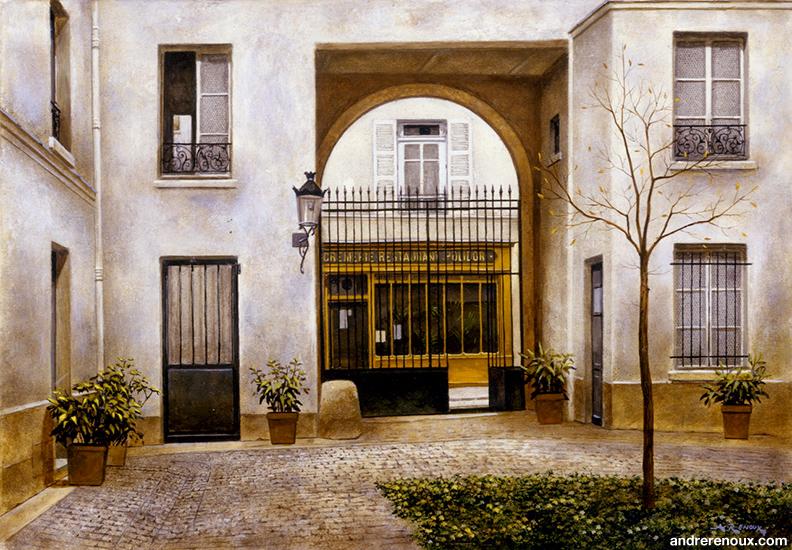 Cour Rue Monsieur-le-Prince