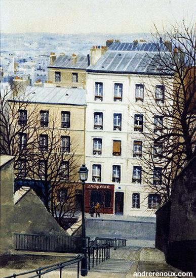 Crêperie à Montmartre