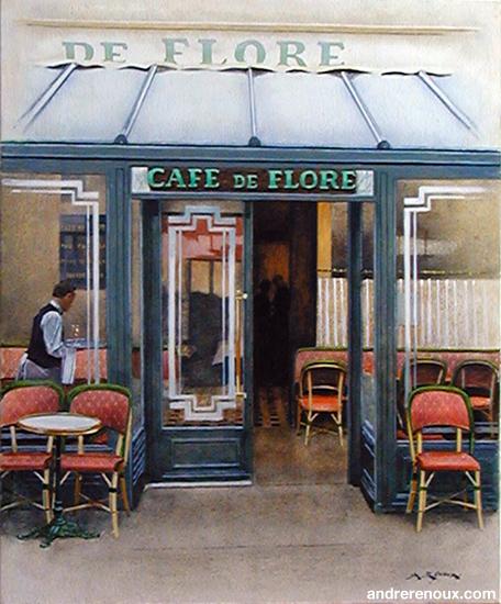 Entrée Du Café De Flore