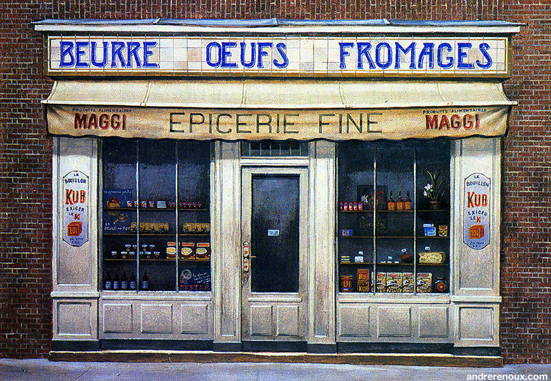Epicerie Fine Beurre Oeufs Fromages