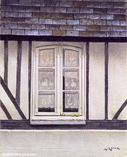 Fenêtre Normande Et Les Trois Pommes
