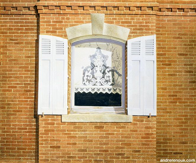 Fenêtre à Saint-Germain-la-Campagne