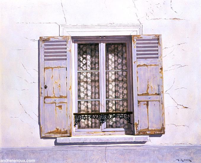Fenêtre Au Rideau