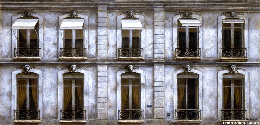 Fenêtres Rue De Tournon