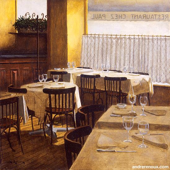 Intérieur Du Restaurant Chez Paul II
