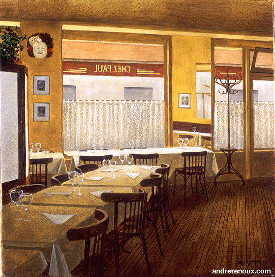 Intérieur Du Restaurant Chez Paul III