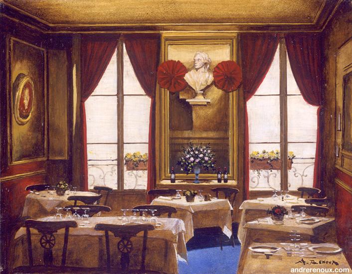 Intérieur Restaurant Le Procope I
