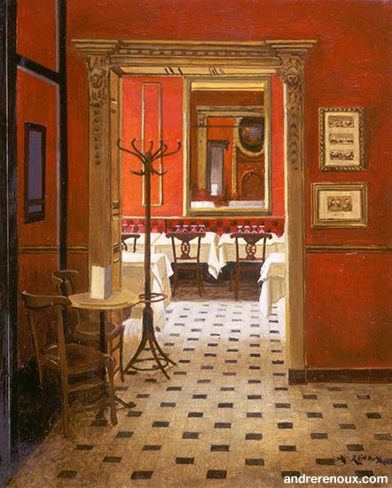 Intérieur Restaurant Le Procope III