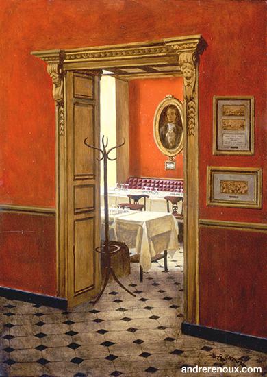 Intérieur Restaurant Le Procope IV