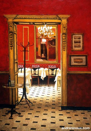 Intérieur Restaurant Le Procope V