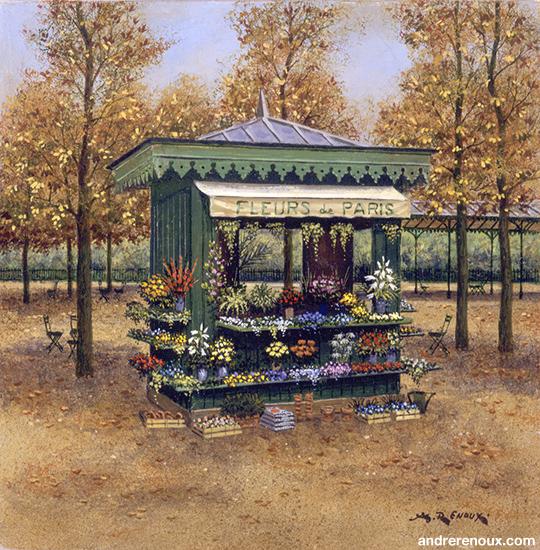 Kiosque à Fleurs I