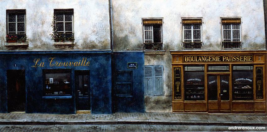 La Trouvaille Rue Norvins