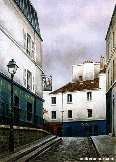 La Bonne Franquette Rue St-Rustique