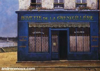 La Buvette De La Grenouillère Dans l'Oise
