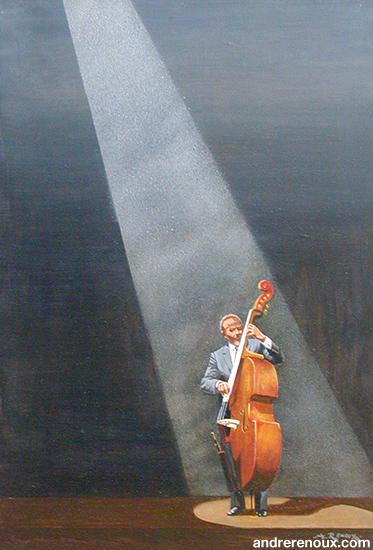 Le Bassiste De Jazz