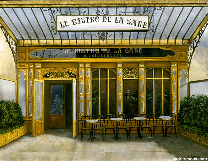 Le Bistro De La Gare Montparnasse