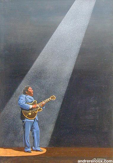 Le Guitariste De Blues