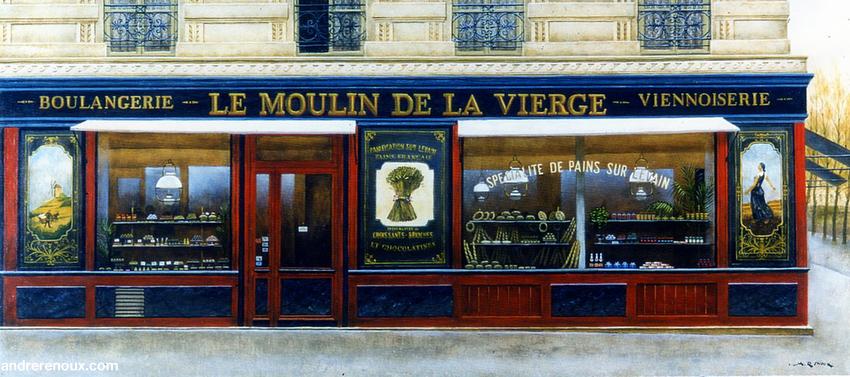Le Moulin De La Vierge
