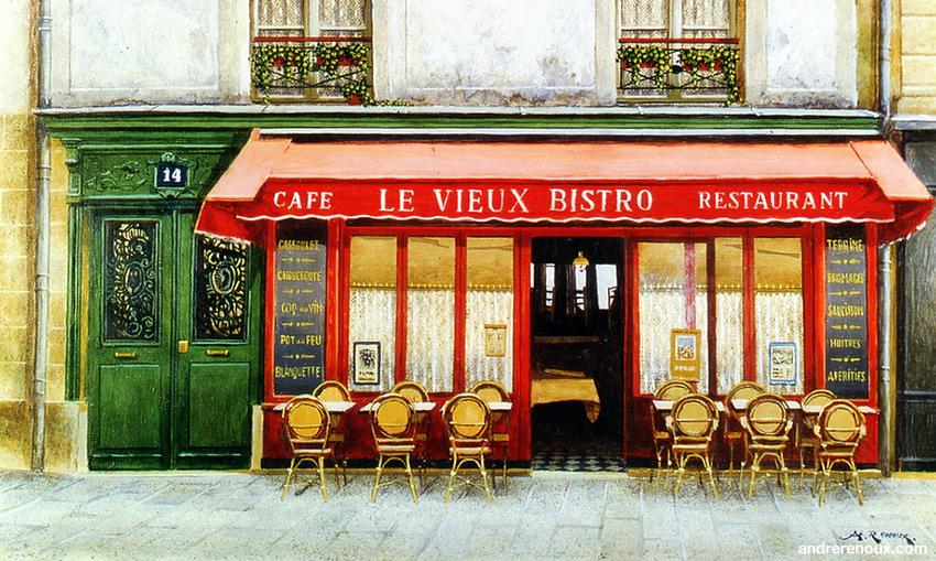 Le Vieux Bistro Café Restaurant