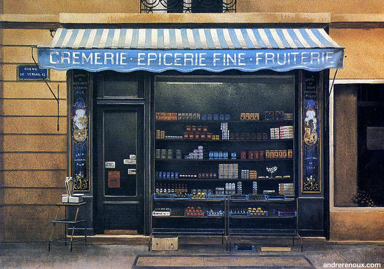L'Epicerie De l'Avenue De Versailles