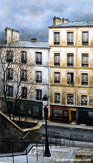 Les Escaliers De Montmartre II
