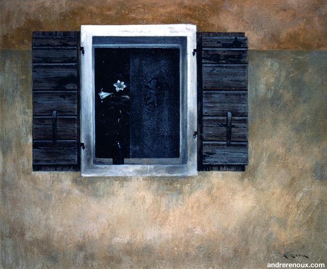 Les Lys Et La Fenêtre