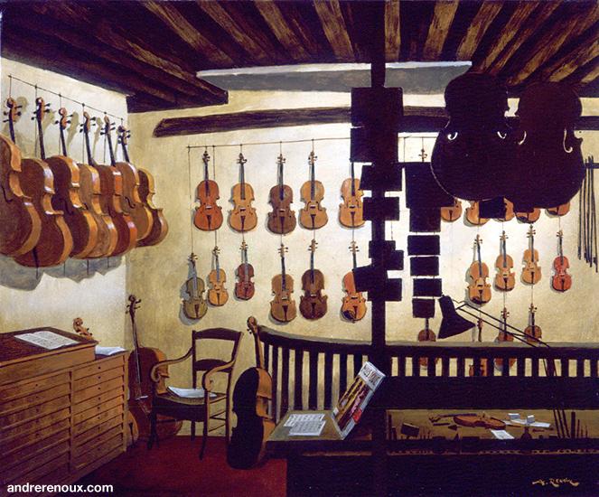 Luthier Rue Elzevir II