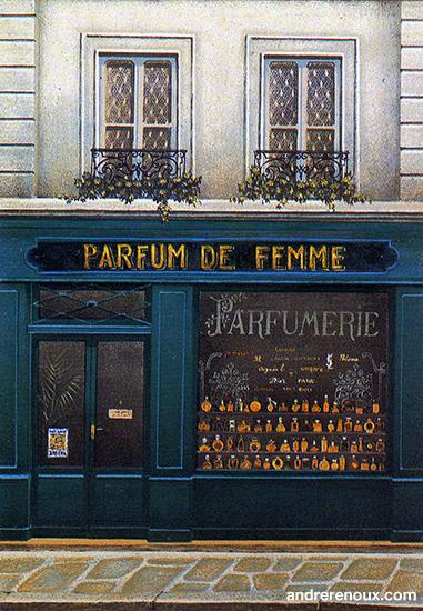 Parfum De Femme Détail