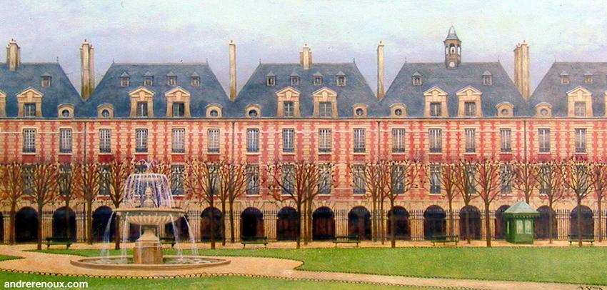 Place Des Vosges III