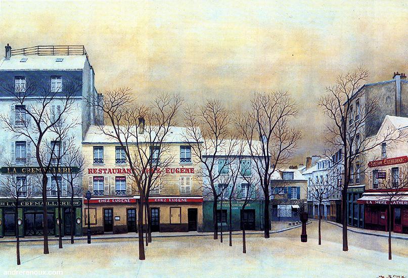 Place Du Tertre II