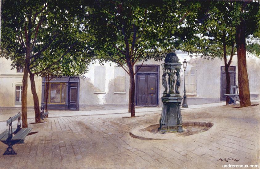 Place Du Bateau Lavoir II