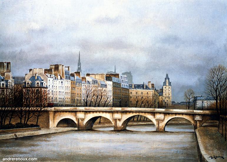Pont Neuf Et Quai Des Orfèvres I