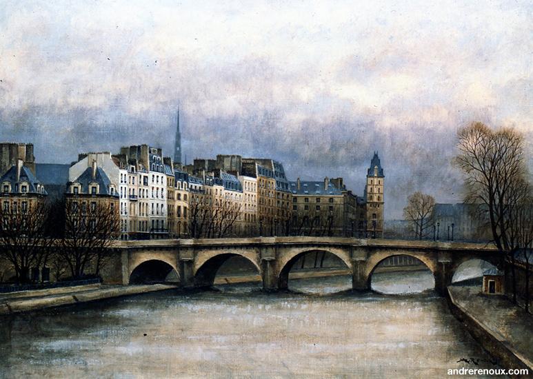 Pont Neuf Et Quai Des Orfèvres II