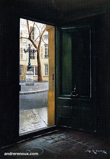 Porte Atelier Delacroix