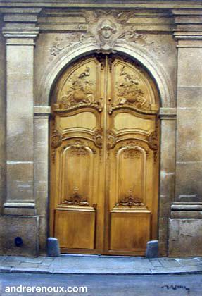 Porte De La Rue Monsieur-le-Prince
