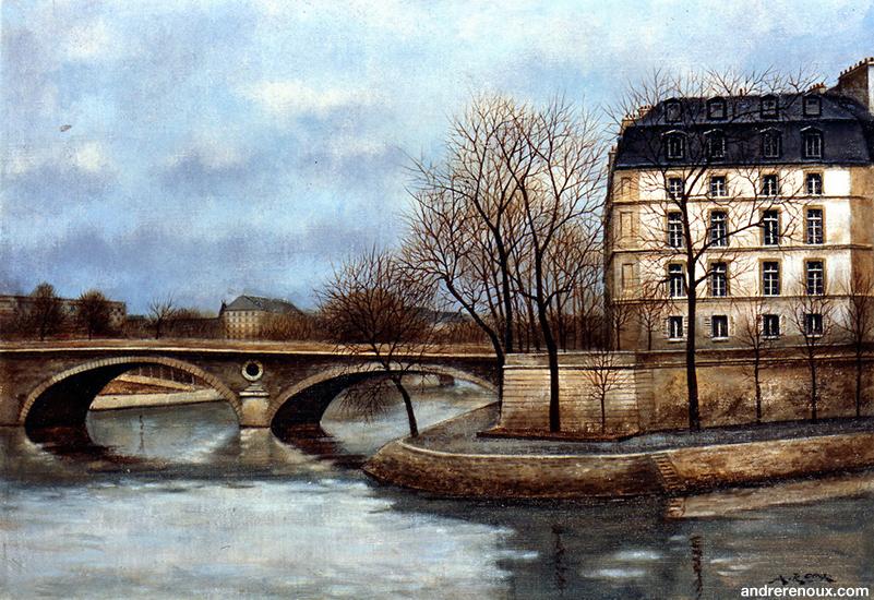Quai Bourbon Et Pont Louis-Philippe