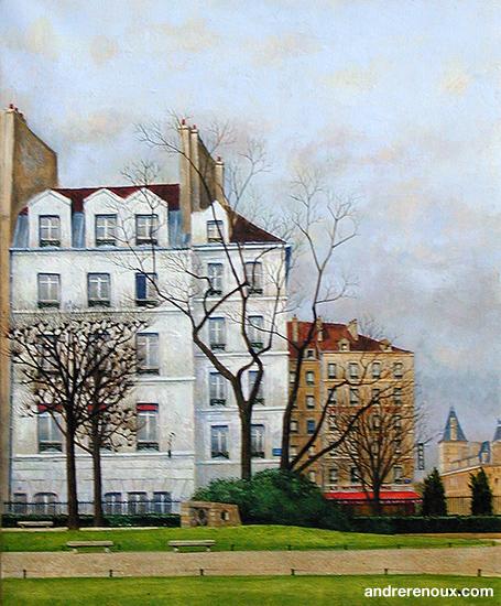Square Viviani Rue-Saint-Julien-le-Pauvre