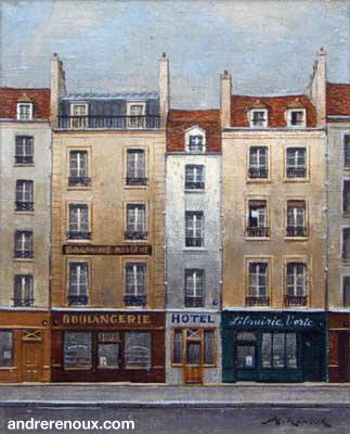 Une Rue De Paris
