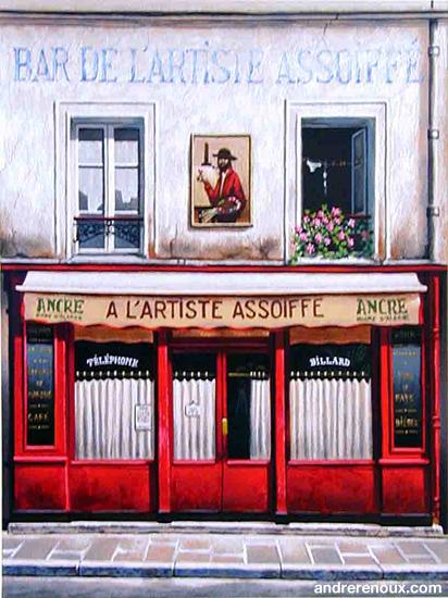 Bar de l'artiste assoiffé